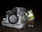 Rollover west of Dixon injures Crocker man