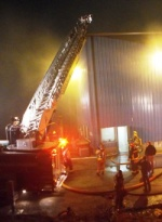 St. Robert trash transfer station fire extinguished after two-alarm response