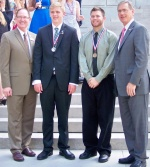 Dallas Ernst and Matthew Howell receive Congressional Award