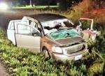 Two injured in crash south of Crocker